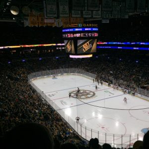 How we went to the NHL: Boston Bruins vs. New Jersey Devils … and how we got the last two tickets of the game